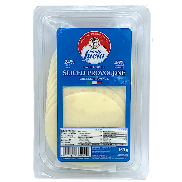 PROVOLONE SLICES, IMPORTED from ITALY