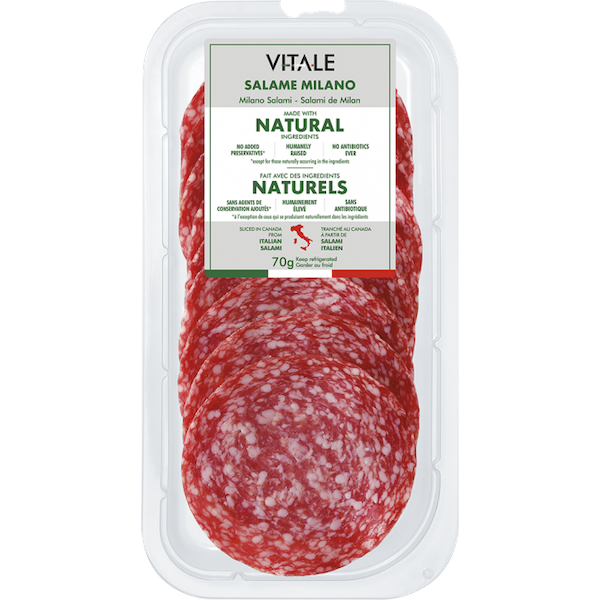 ALL NATURAL SALAME MILANO