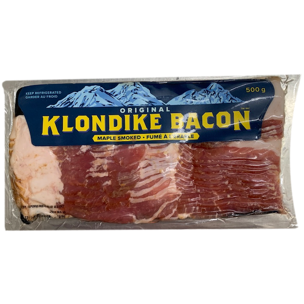BACON, KLONDIKE MAPLE SMOKED