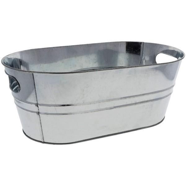 GALVANIZED METAL TUB