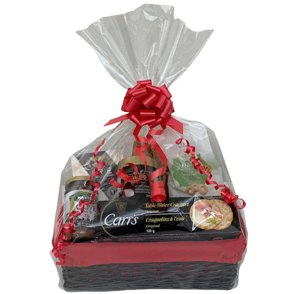 CHEESE and CRACKER GIFT BASKET