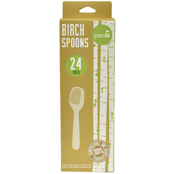 COMPOSTABLE BIRCH SPOONS