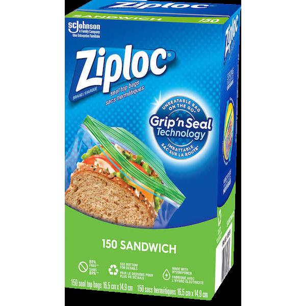 ZIPLOC 150 SANDWICH BAGS