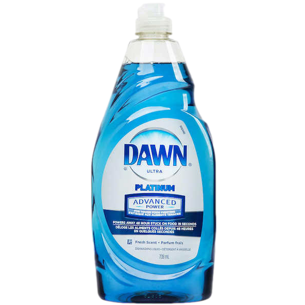 PLATINUM FRESH SCENT DISHWASHING LIQUID