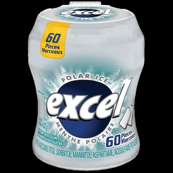 EXCEL POLAR ICE SUGAR FREE GUM