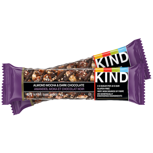 ALMONND MOCHA DARK COCOLATE NUT BAR