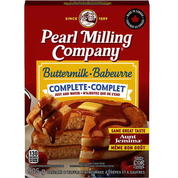 BUTTERMILK COMPLETE PANCAKE and WAFFLE MIX