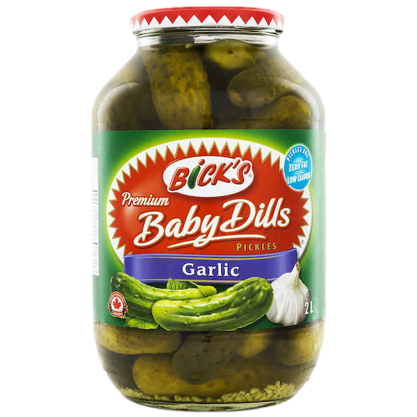 BABY GARIC DILL PICKLES, FAMILY SIZE