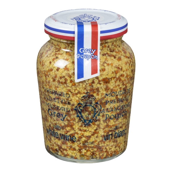 DIJON OLD STYLE MUSTARD with WHITE WINE
