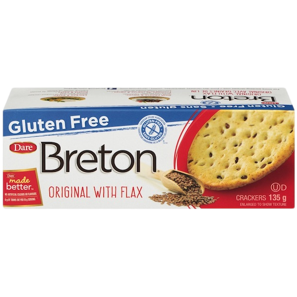 BRETON GLUTEN FREE ORIGINAL with FLAX CRACKERS