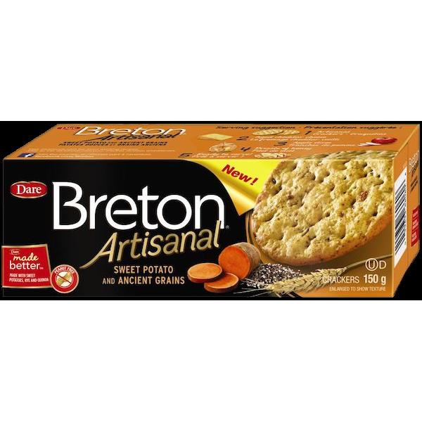 BRETON ARTISANAL SWEET POTATO CRACKERS