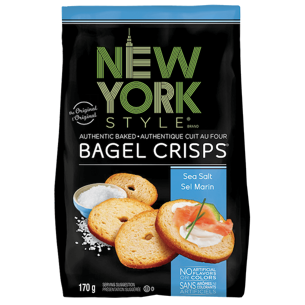 BAGEL CRISPS, SEA SALT