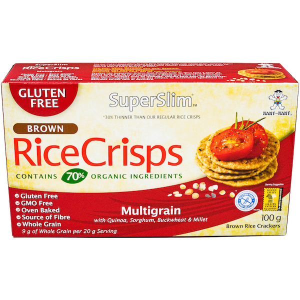 SUPERSLIM MULTIGRAIN RICE CRISPS