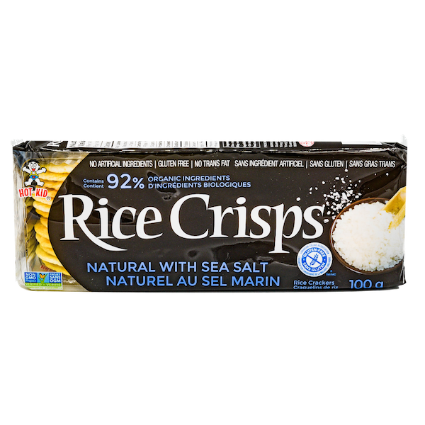 NATURAL SEA SALT RICE CRISPS