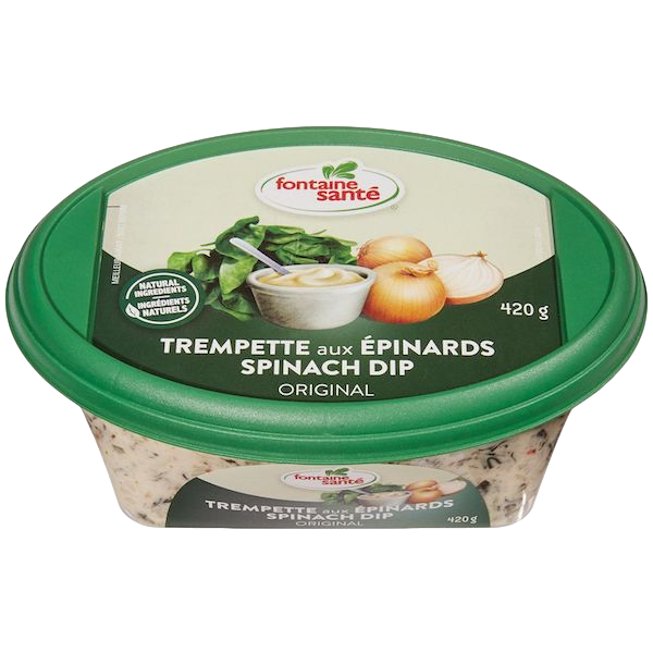 SPINACH DIP, FAMILY SIZE