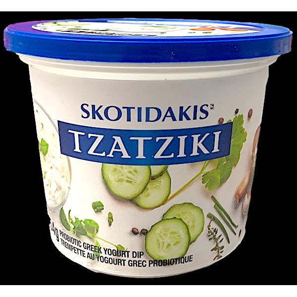 TZATZIKI GREEK YOGURT DIP