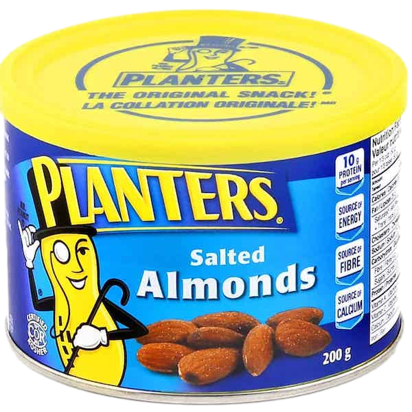 ALMONDS, ROASTED and SALTED
