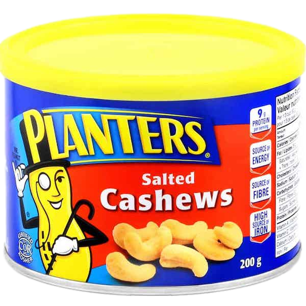 CASHEWS, ROASTED and SALTED
