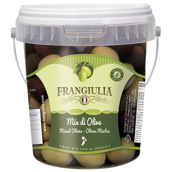 MIXED OLIVES PAIL