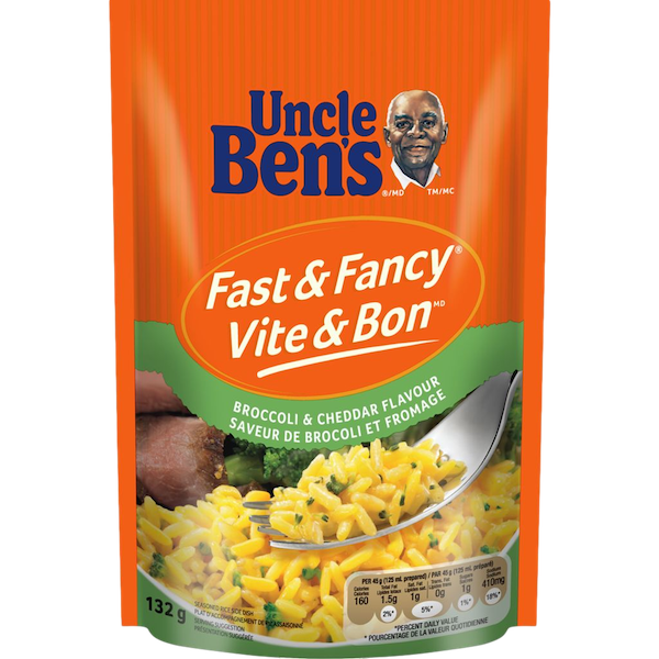 FAST and FANCY BROCCOLI CHEDDAR FLAVOUR RICE