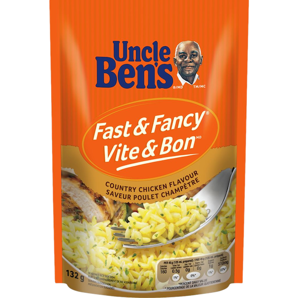 FAST and FANCY COUNTRY CHICKEN FLAVOUR RICE