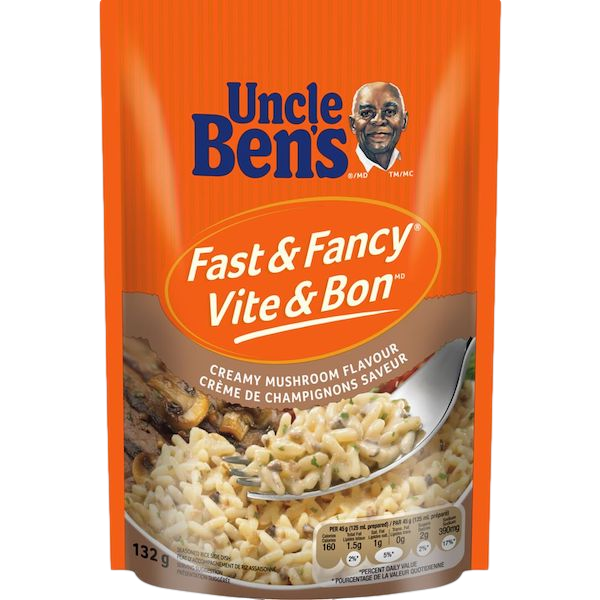 FAST and FANCY CREAMY MUSHROOM FLAVOUR RICE
