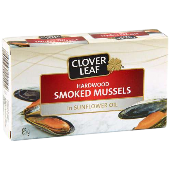 SMOKED MUSSELS in SUNFLOWER OIL