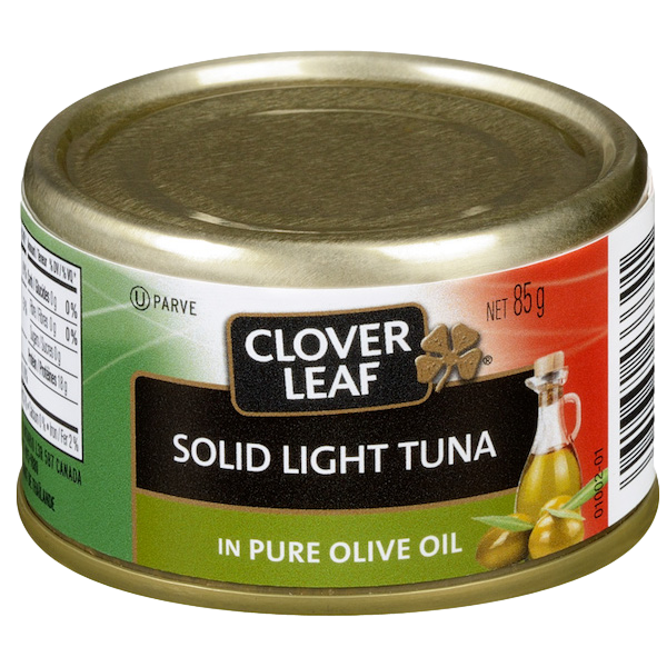 FLAKED LIGHT TUNA in PURE OLIVE OIL