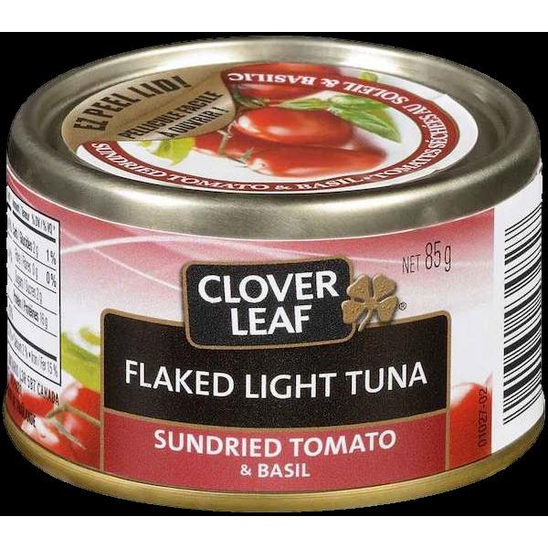 FLAKED LIGHT TUNA SUNDRIED TOMATO BASIL