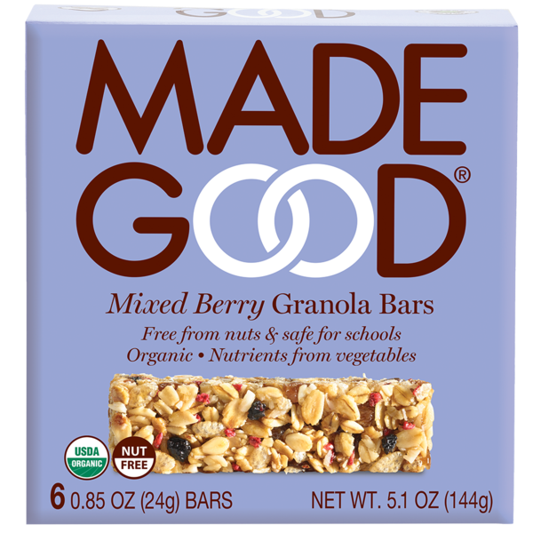 GRANOLA BAR, MIXED BERRY