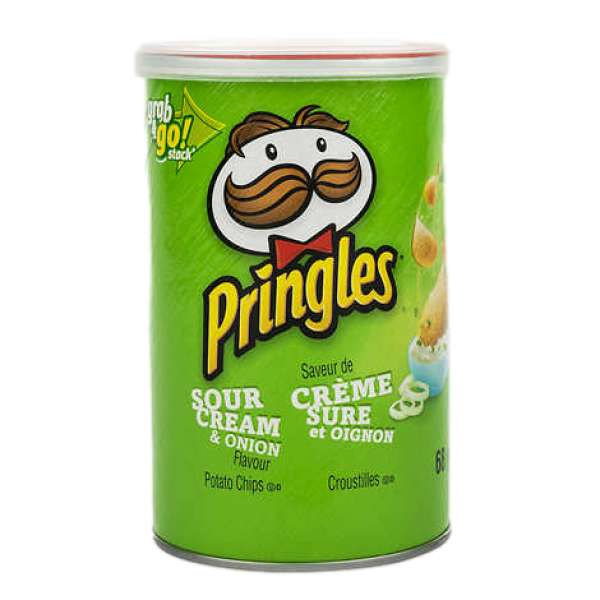 GRAB N' GO SOUR CREAM and ONION POTATO CHIPS