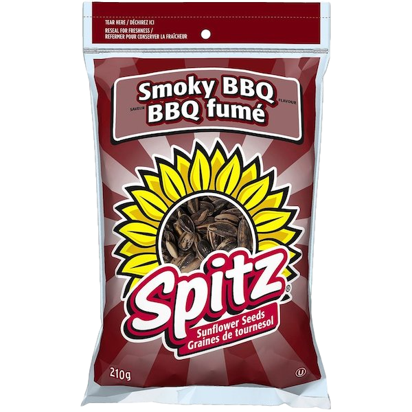SUNFLOWER SEEDS, SMOKEY BBQ