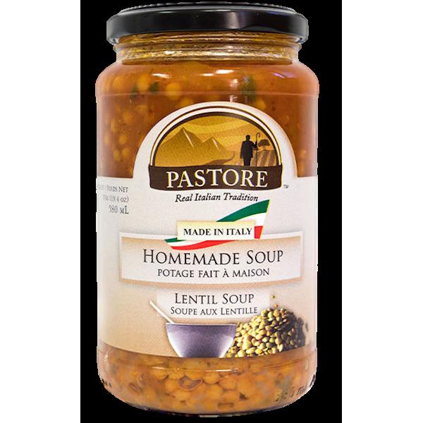 HOMEMADE ITALIAN LENTIL SOUP