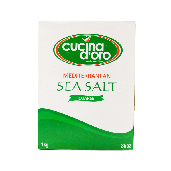 COARSE MEDITERRANEAN SEA SALT