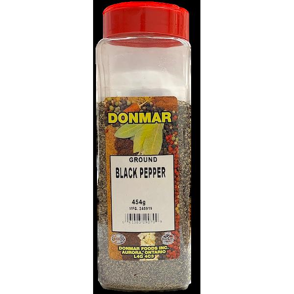 BLACK PEPPER, GROUND