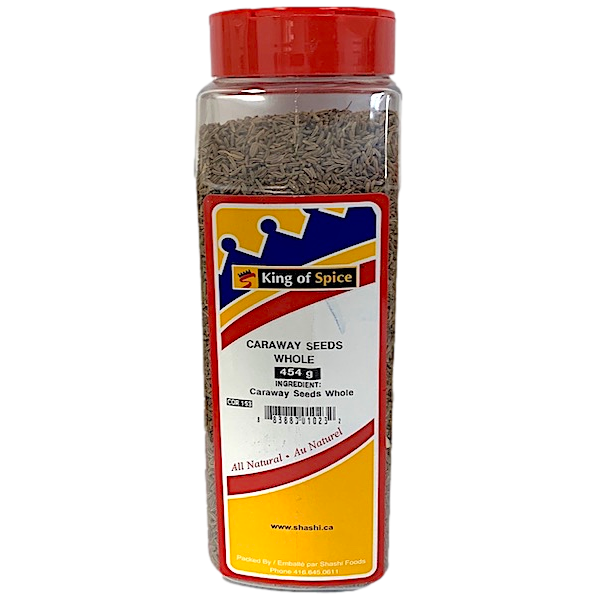 CARAWAY SEEDS, WHOLE