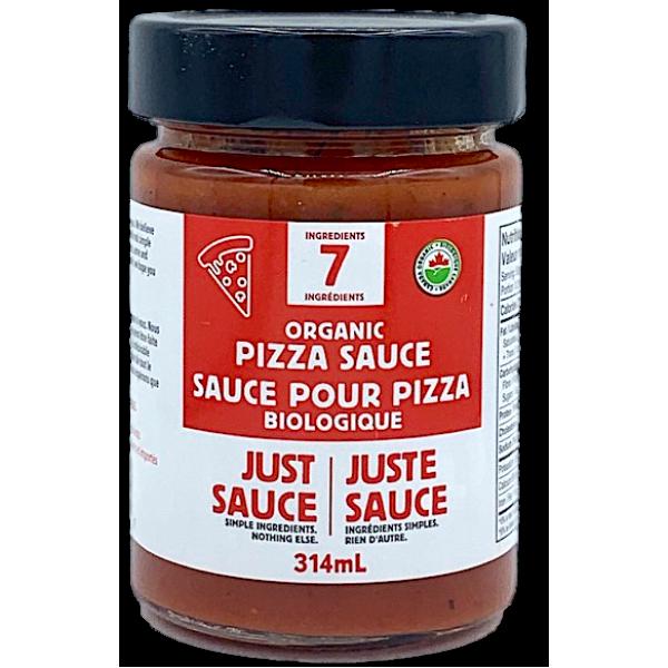 JUST SAUCE, ORGANIC PIZZA SAUCE