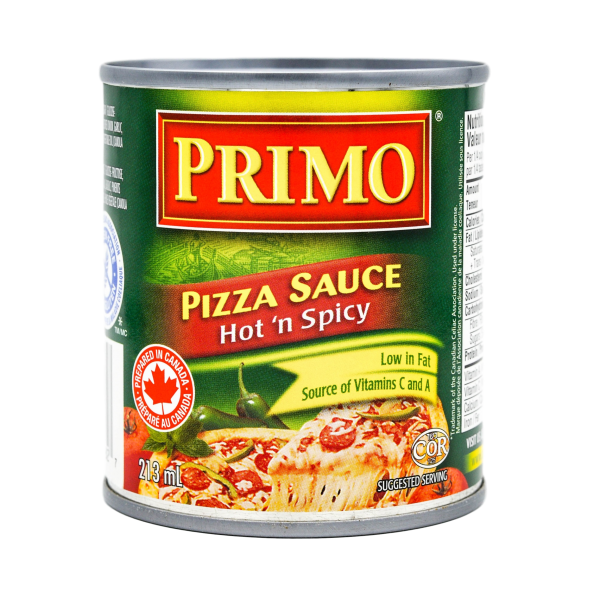 PIZZA SAUCE HOT AND SPICY