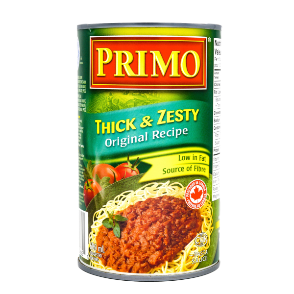 THICK N' ZESTY ORIGINAL TOMATO SAUCE