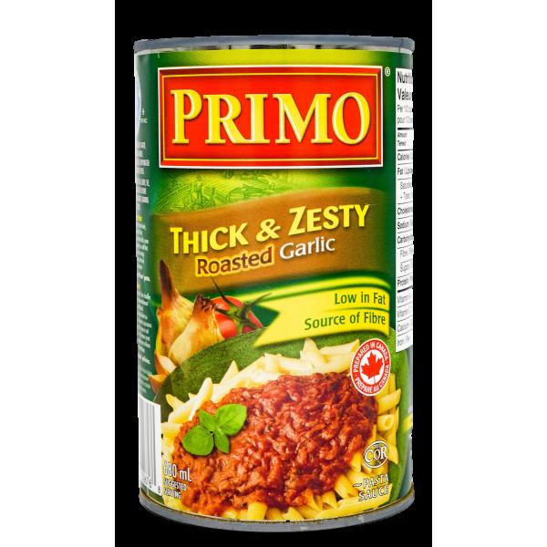 THICK N' ZESTY ROASTED GARLIC TOMATO SAUCE