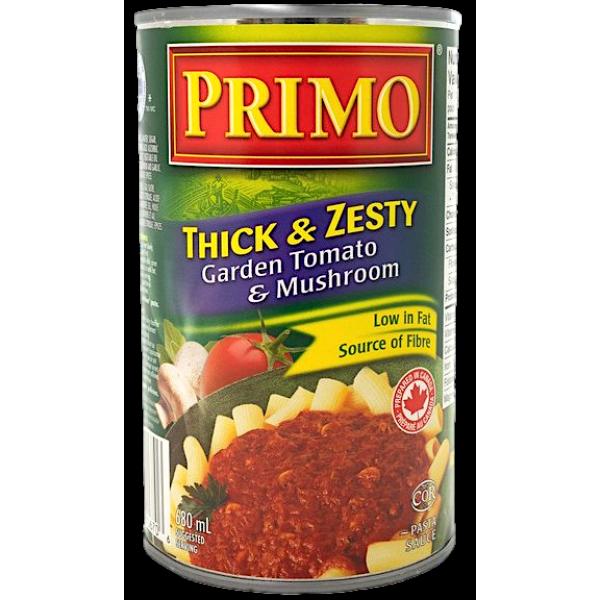 THICK N' ZESTY GARDEN TOMATO MUSHROOM SAUCE