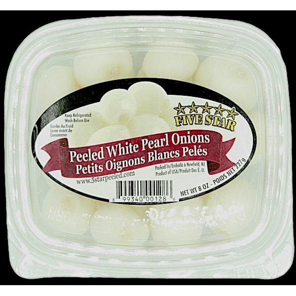 ONIONS, PEELED WHITE PEARL