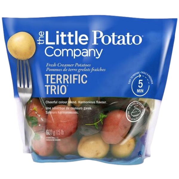 POTATOES, MINI TRIO  CREAMERS